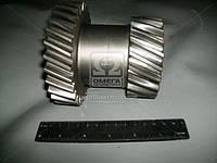 Блок шестерен вала промежуточного ГАЗ 3307,3308,3309 5-ти ступенчатая КПП (производитель ГАЗ) 3309-1701052