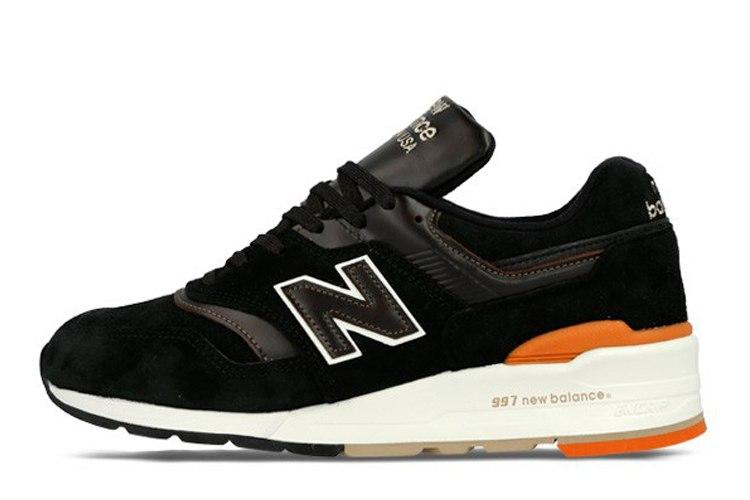 Мужские кроссовки New Balance 997 Authors Collection черные топ реплика