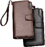 Мужской мини-клатч, портмоне Baellerry Business (Байлерри Бизнес) из эко-кожи, фото 3