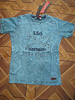Детские футболки для мальчиков 5-8 лет Турция коттон