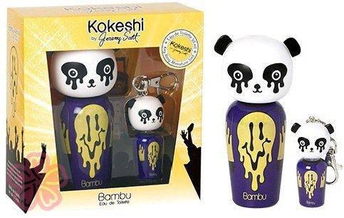 Набор Kokeshi BAMBU BAMBU DESIGNED BY JEREMY SCOTT (туалетная вода 50 мл+миниатюра аромата 5мл)