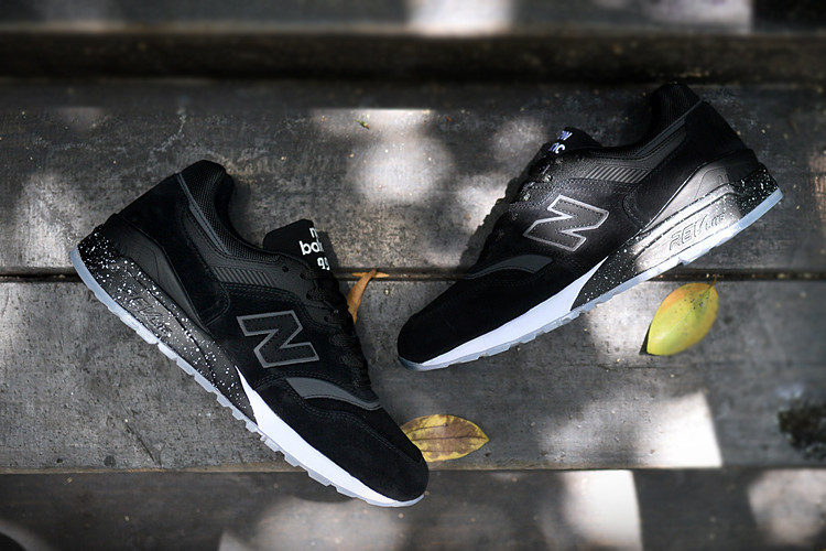 Мужские кроссовки New Balance 997.5 All Black топ реплика