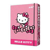 """Папка для зош. В5 """"Kite"""" №HK17-210 """"Hello Kitty"""" на рез. картон(9)(36)"""