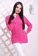 Вязаные женские весенние свитера Мрия-7 из шерсти с акрилом
