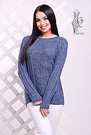 Вязаные женские весенние свитера Мрия-8 из шерсти с акрилом