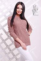 Вязаные женские весенние свитера Мрия-9 из шерсти с акрилом