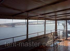 Мягкие ПВХ окна для корабля
