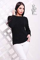 Вязаные женские весенние свитера Мрия-10 из шерсти с акрилом