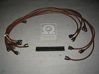 Провод зажигания ЗИЛ 130 коричневый 9 штук (производитель Украина) 130-3706371
