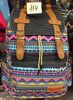 Рюкзак для подростка с этническим принтом