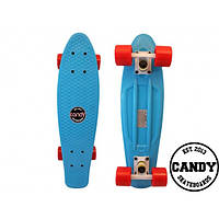"Скейт крузер Candy 22""  Blue/Red"