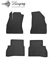 Комплект резиновых ковриков Stingray для автомобиля  Fiat Doblo 2010-    4шт.