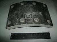 Накладка тормозная КАМАЗ передний сверленная (производитель УралАТИ) 53212-3501105