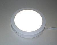 Светодиодный светильник Ecostrum 18W 4000К накладной круг