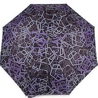 Женский зонт полуавтомат (цветной, 9 спиц)