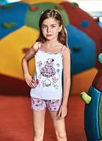 BERRAK Майка+шорты для девочки 6543