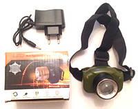 Фонарь налобный BL-6501 аккумуляторный