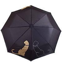 Зонт женский автомат DOPPLER (ДОППЛЕР), коллекция CARBONSTEEL (КАРБОНСТИЛ) DOP744765P