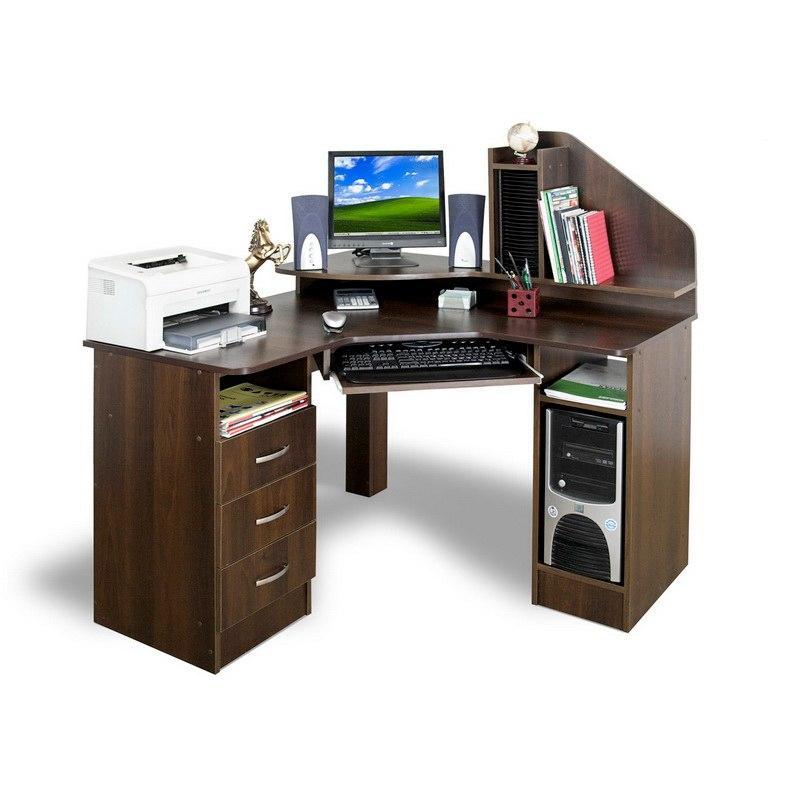 Угловой компьютерный стол без надстройки тиса ск-120, цена 2.