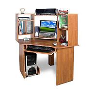 Угловой компьютерный стол с надстройкой Тиса  СК-91