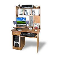 Прямой компьютерный стол с надстройкой Тиса СКМ-3