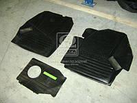 Коврики кабины ГАЗЕЛЬ (3 наименования)(резиновый)( комплект) 3302-5109000