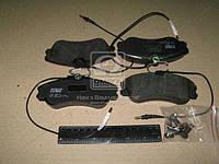 Колодка тормозной CITROEN XSARA, PEUGEOT 306 передний (Производство TRW) GDB1260