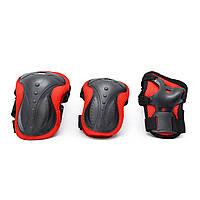Комплект детской защиты для катания на роликовых коньках,самокате,скейте 4, защита наколенники налокотники