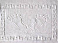 Полотенце отельное махровое для ног Lotus 50*70 белое 600 гр.