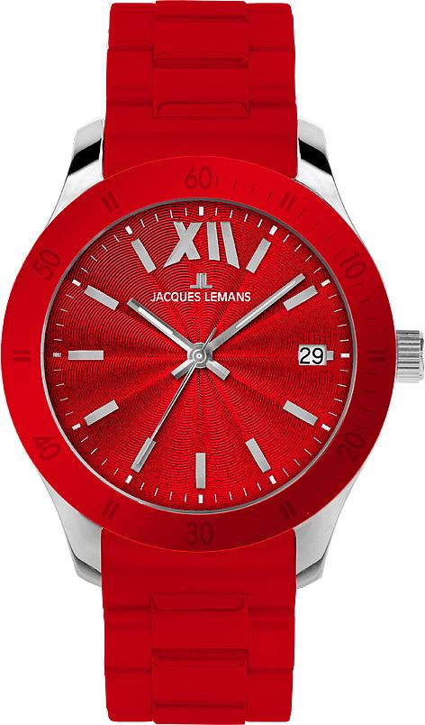 Часы Jacques Lemans 1-1623D кварц. (Каучук)