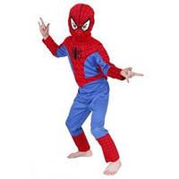 Человек паук детский, Детский карнавальный костюм Человека паука, костюм супер героя Spiderman