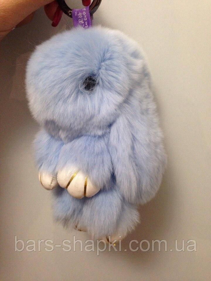 Брелок кролик меховой, 16 см