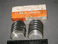 Вкладыши шатунные 0,25 ГАЗ 52 АО20-1 (производитель ЗПС, г.Тамбов) ТА.ВК-51-1000104