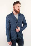 Пиджак мужской осенний, блейзер №230F001 (Джинс)