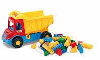 """Грузовик с конструктором """"Multi truck"""", в сетке 36*20см, ТМ Wader(32330)"""