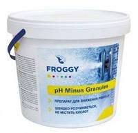 "Препарат для понижения уровня pH ""РН Minus Granules"", Froggy (5 кг)"