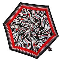 Женский зонт, Цветной (механика, 4 сложения)