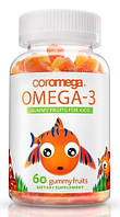 Coromega Kids Omega-3 60 gummy fruits