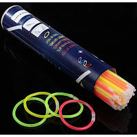 Неоновые палочки, светящиеся браслеты, светящиеся неоновые палочки