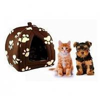 Мягкий домик для собак и кошек Pet Hut, домик для мелких домашних животных