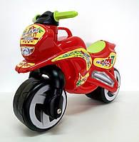 """Каталка """"Мотоцикл"""", 2-х колесный, красный, в пак. 74*46см, Украина (1шт)(11-006КР)"""