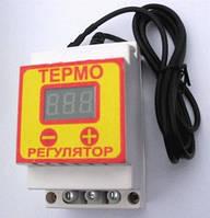 Терморегулятор двухпороговый ЦТР8 - 2Ч 40А, на DIN-рейку, -55°С 125°С
