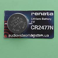 Батарейка литиевая Renata CR2477N Lithium 3V