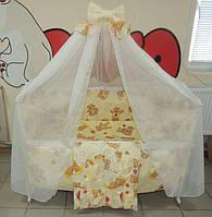 """Фирменный комплект постельного белья 9 предметов """"Сладкие сны"""" для мальчиков и девочек"""