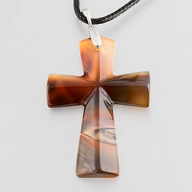 Крестики, натуральный камень