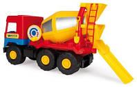 "Машина ""Бетономешалка ""Middle truck"" (12 шт.), в пак. 35*20*17см, ТМ Wader(39223)"