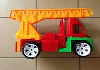 """Машина """"Пожарная Алекс"""", в сетке 40*28см, ТМ BAMSIC, произ-во Украина (4шт/уп)(082)"""