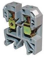 Зажим наборный ЗНИ- 6мм2 (JXB50A) серый на DIN-рейку ИЭК