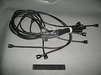 Провод зажигания ЗИЛ 130 силикончерный 9 штук (производитель Украина) 130-3706371