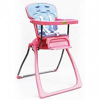 Стульчик для кормления TILLY BT-LT-06 PINK, детский стульчик